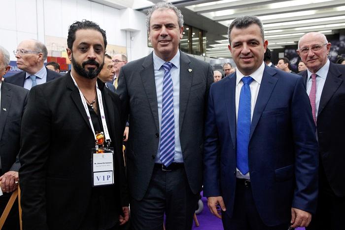 רכבת אווירית של נשיאים ובכירי ענף היהלומים הגיעו לישראל, לרגל שבוע היהלומים, שנערכה בבורסת היהלומים ברמת-גן