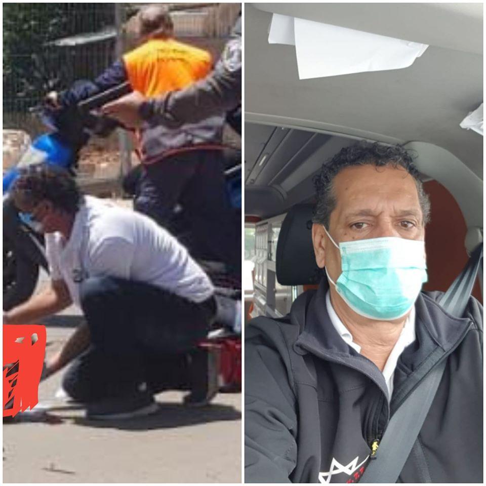 יישר כח לנהג האמבולנס שהגיע בשבוע שעבר, ראשון לזירת הפיגוע וטיפל במסירות בפצועה: דניאל מדואל