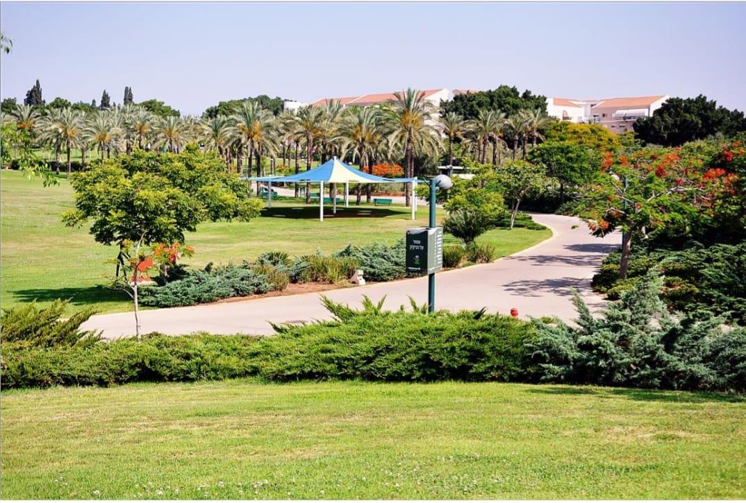 הפארק העירוני ומתקני הכושר נפתחו הבוקר בכפר סבא