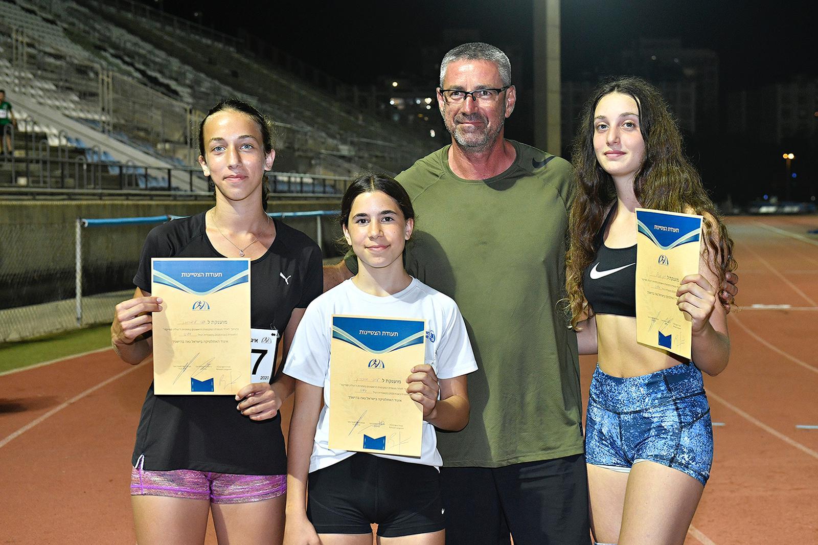 אלופים מקומיים – כפר סבא מובילה באליפות ישראל לילדים ונוער באתלטיקה קלה