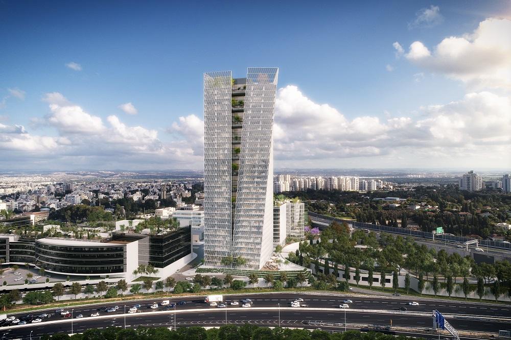 מגדל משרדים ברעננה קיבל אישור המועצה האמריקאית לבניה ירוקה  להשתתפות בפיילוט בנושא סביבת עבודה בריאה