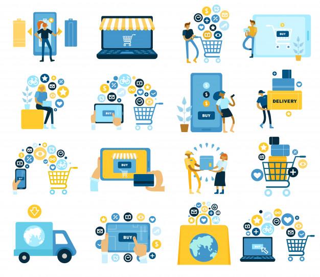 כל השלבים של בניית חנות אינטרנטית