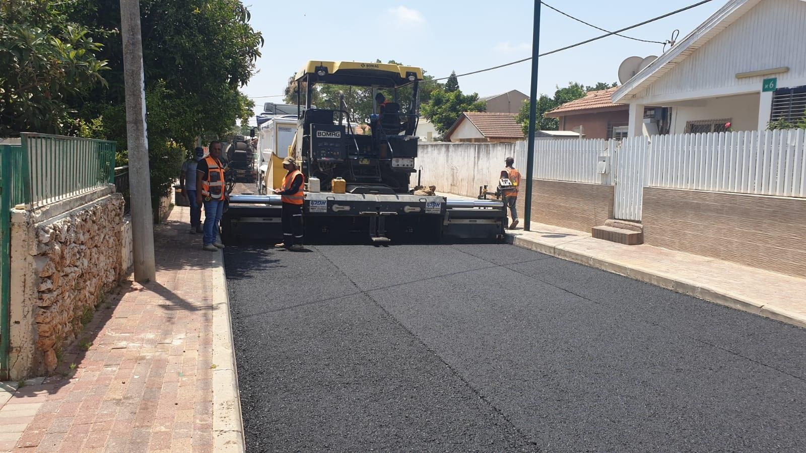 כפר סבא: עבודות שדרוג תשתיות ברחבי העיר